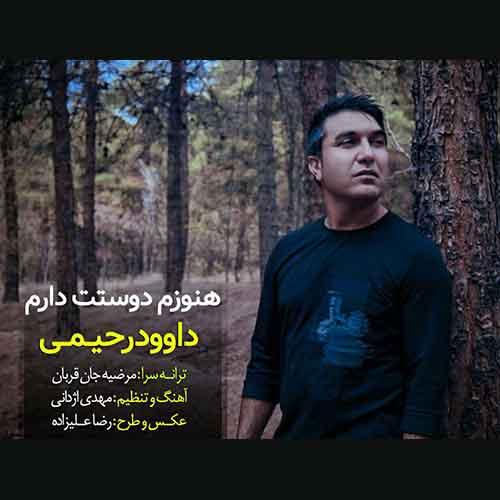 دانلود آهنگ جدید داوود رحیمی به نام هنوزم دوستت دارم