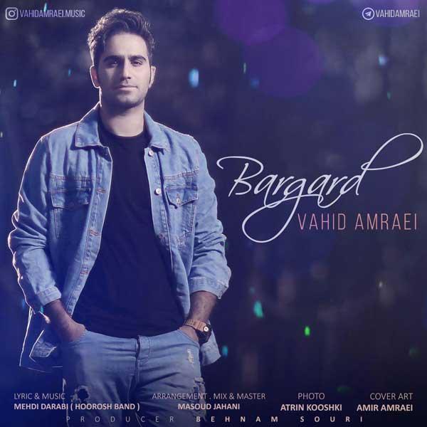 Vahid Amraei Bargard - دانلود آهنگ وحید امرایی به نام برگرد